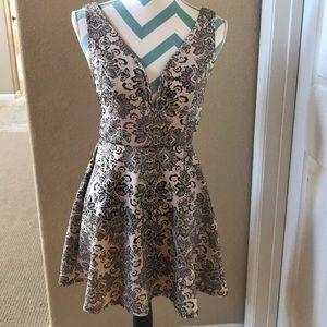Bailey Blue Sweetheart Dress Size M
